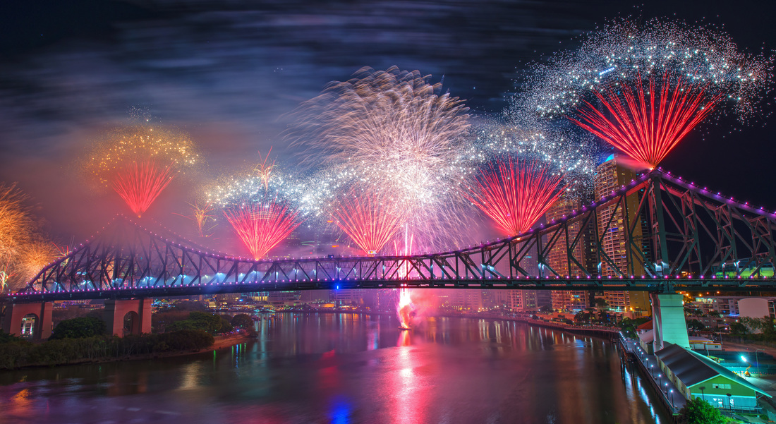 Brisbane river fire